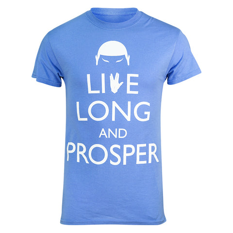 "Brainstorm Gear Men's Star Trek ""Live Long and Prosper"" Tech Shirt"