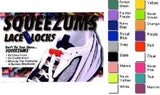 Squeezums Lace Locks - 1 Pair NEW