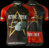 "Brainstorm Gear Men's Star Trek ""Engineering"" - Red - Cycling Jersey"