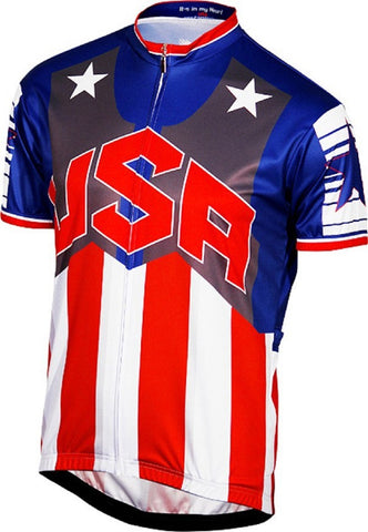 Team USA Men's Road Cycling Jersey
