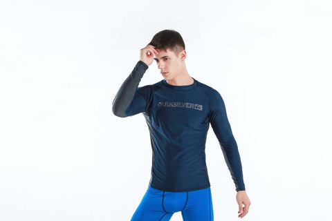 QUIKSILVER UV Protection Men's Lycra Long Sleeve Rashguard