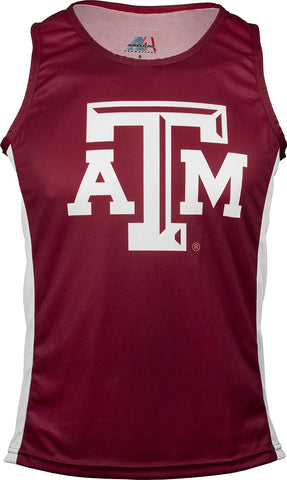 NCAA Men's Texas A&M Aggies RUN/TRI Singlet