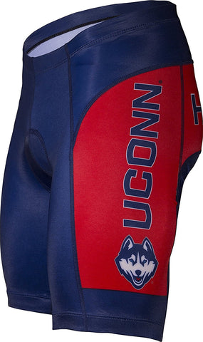 NCAA Men's Adrenaline Promotions University of Connecticut UCONN Cycling Shorts