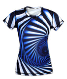 INKnBURN Women's Hypnotic Tech Shirt - Triathlete Store