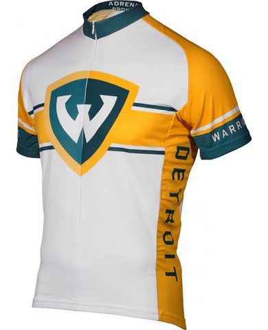 NCAA Men's Adrenaline Promotions Wayne State Cycling Jersey