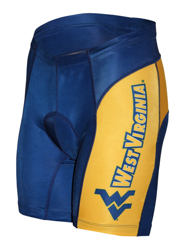 NCAA Men's Adrenaline Promotions West Virginia Cycling Shorts