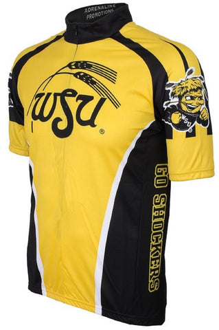 NCAA Men's Adrenaline Promotions Wichita State Shockers Cycling Jersey