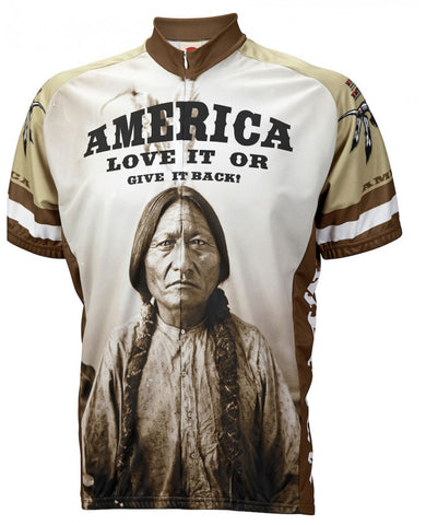America - Love it or Give it Back! Cycling Jersey