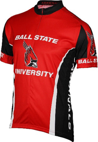 NCAA Men's Adrenaline Promotions Ball State University Cycling Jersey