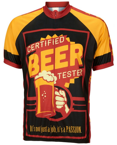 Certified Beer Taster Cycling Jersey - Triathlete Store