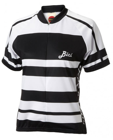 World Jerseys Women's Formaggio Bici Cycling Jersey Black
