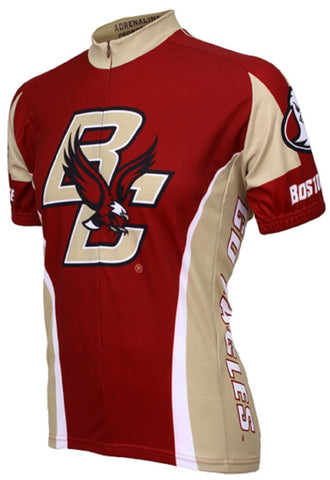 NCAA Men's Adrenaline Promotions Boston College Eagles Road Cycling Jersey