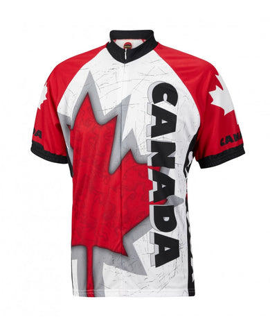 Canada Maple Leaf Men's Cycling Jersey