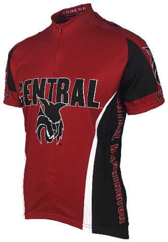 NCAA Men's Adrenaline Promotions Central Washington Wildcats Cycling Jersey