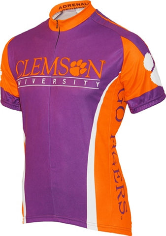 NCAA Men's Adrenaline Promotions Clemson Tigers Road Cycling Jersey