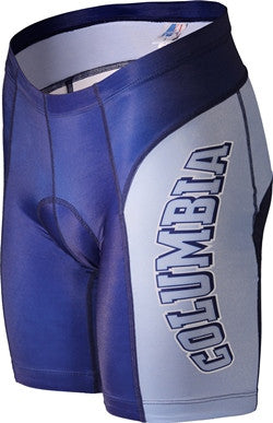NCAA Men's Adrenaline Promotions Columbia University Lions Cycling Shorts