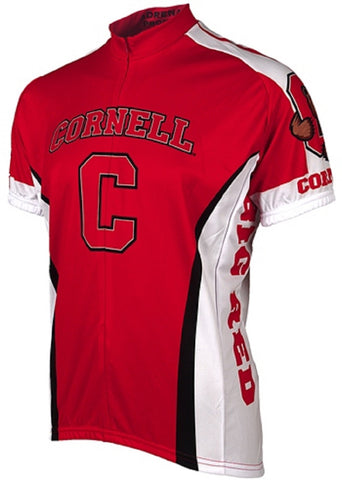 NCAA Men's Adrenaline Promotions Cornell University Big Red Road Cycling Jersey