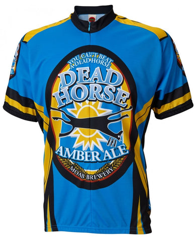 Moab Brewery Dead Horse AMBER ALE Cycling Jersey