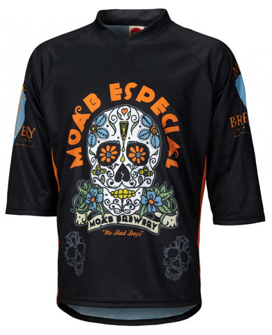 Moab Brewery Especial 3/4 Sleeve Mountain Bike Jersey
