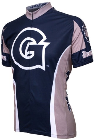NCAA Men's Adrenaline Promotions Georgetown Hoyas Road Cycling Jersey