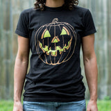 Jack O' Lantern T-Shirt (Ladies)