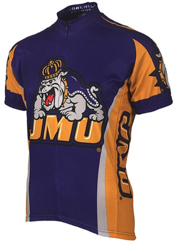 NCAA Men's Adrenaline Promotions James Madison University JMU RoadCycling Jersey