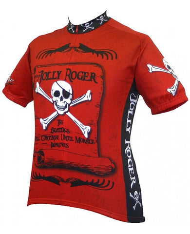 World Jerseys Men's Jolly Roger Cycling Jersey