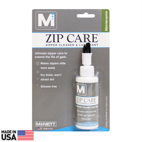 McNett Zip Care Liquid Zipper Cleaner and Lubricant, 2-Ounce