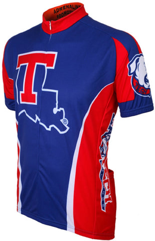 NCAA Men's Adrenaline Promotions Louisiana Tech Bulldogs Road Cycling Jersey