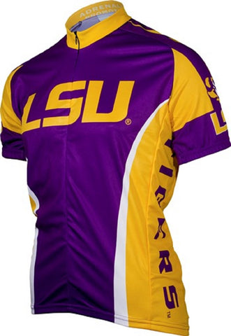 NCAA Men's Adrenaline Promotions LSU Tigers Road Cycling Jersey