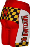 NCAA Men's Adrenaline Promotions University of Maryland Terrapins Cycling Shorts
