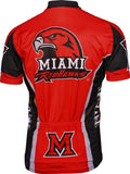 NCAA Men's Adrenaline Promotions Miami of Ohio RedHawks Cycling Jersey