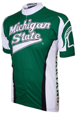 NCAA Men's Adrenaline Promotions Michigan State Spartans Road Cycling Jersey
