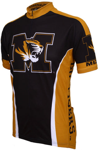 NCAA Men's Adrenaline Promotions Missouri Tigers Cycling Jersey
