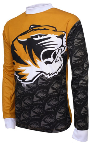 NCAA Men's Adrenaline Promotions Missouri MIZZOU Tigers MTB Cycling Jersey