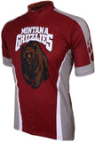 NCAA Men's Adrenaline Promotions Montana Grizzlies Road Cycling Jersey