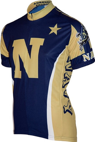 NCAA Men's Adrenaline Promotions US Navy Midshipmen Road Cycling Jersey