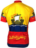 Adrenaline Promotions Canadian Provinces New Brunswick Cycling Jersey