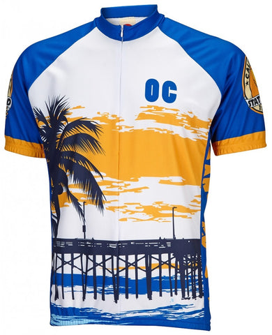 World Jerseys Men's Orange County Cycling Jersey