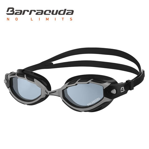 Barracuda POLARIZED Swimming Goggles Anti-glare Curved Lenses Anti-fog UV Protection # 33975 Eyewear
