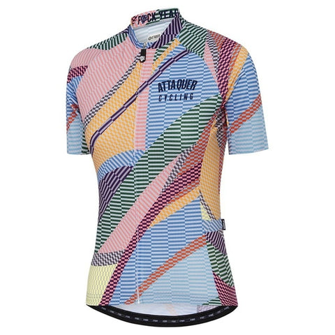 Attaquer Women's All Day Kaleidoscope TEAM Cycling Jersey