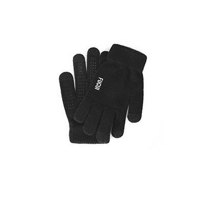 Running Gloves Warm Touch Screen Handy Full Finger Gloves