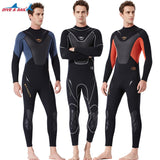 3mm Men's DIVE&SAIL Neoprene Triathlon Full Wetsuit