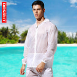 Transparent Ultra-thin UV Protection Men's Long Sleeve Hooded Jacket