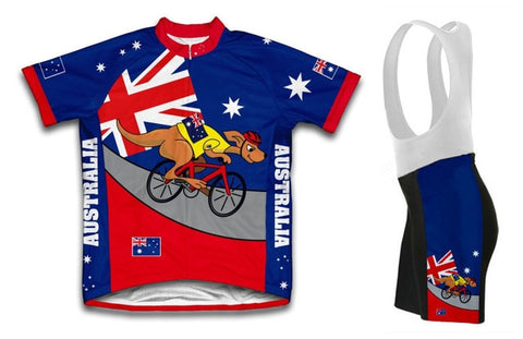 Australia Kangaroo Men's Cycling Kit
