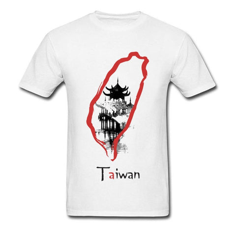 Taiwan Map Men's T-Shirt