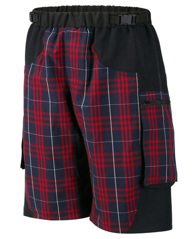 Outlaw Bullet MTB Short Red Plaid