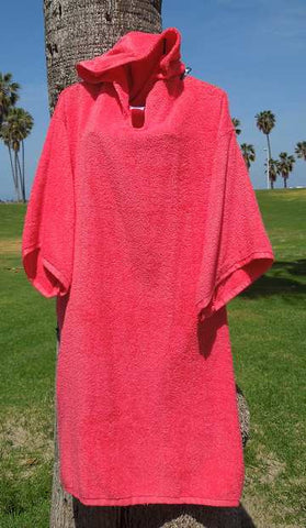 Chara Designs Changing Robe (Coral) - Triathlete Store