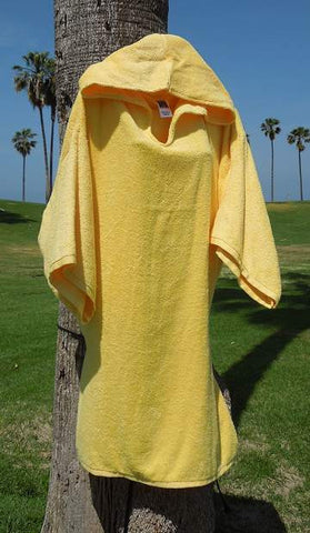 Chara Designs Changing Robe (Yellow) - Triathlete Store