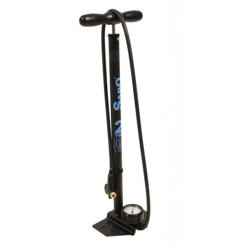 SAPO OK Plus Pro Matte Black Floor Pump